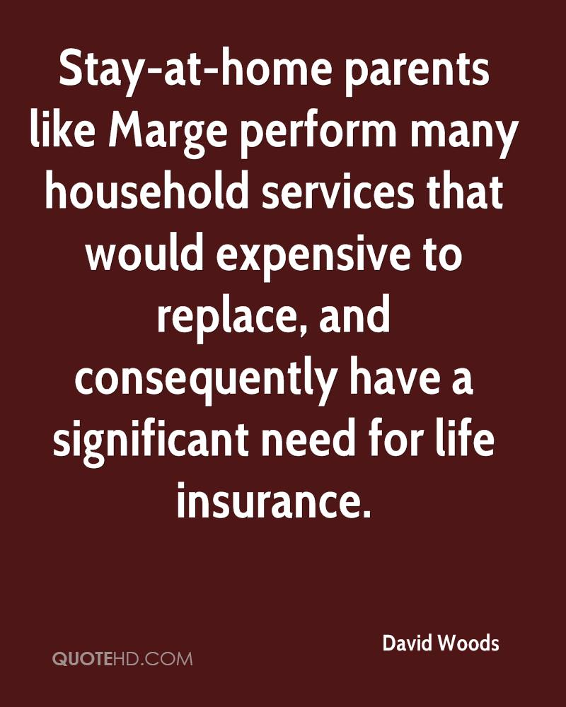 Stay At Home Parents Like Marge Perform Many Household Services That Would  Expensive To