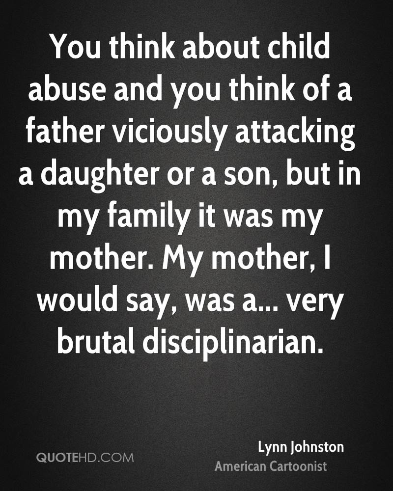 Quotes About Child Abuse Lynn Johnston Quotes  Quotehd