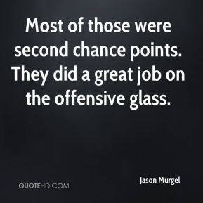 Jason Murgel  - Most of those were second chance points. They did a great job on the offensive glass.