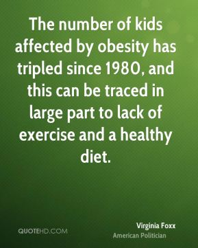 The number of kids affected by obesity has tripled since 1980, and this can be traced in large part to lack of exercise and a healthy diet.