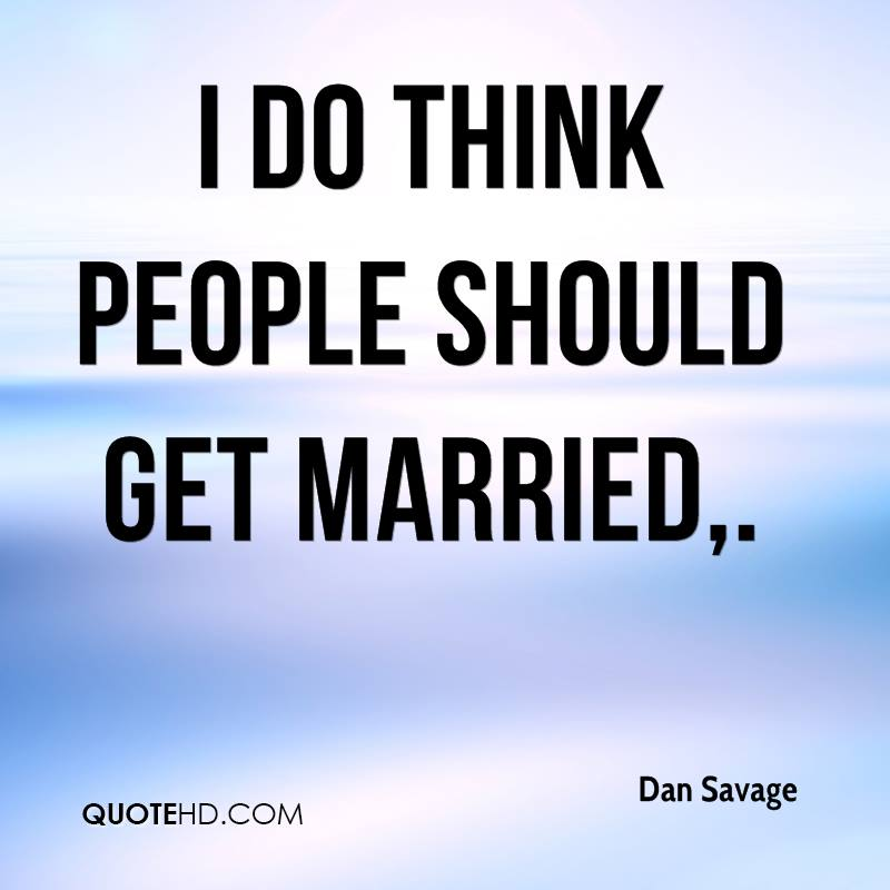 When i should get married