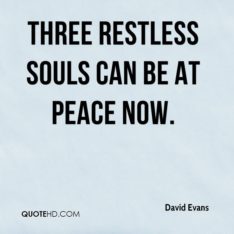 Three restless souls can be at peace now.