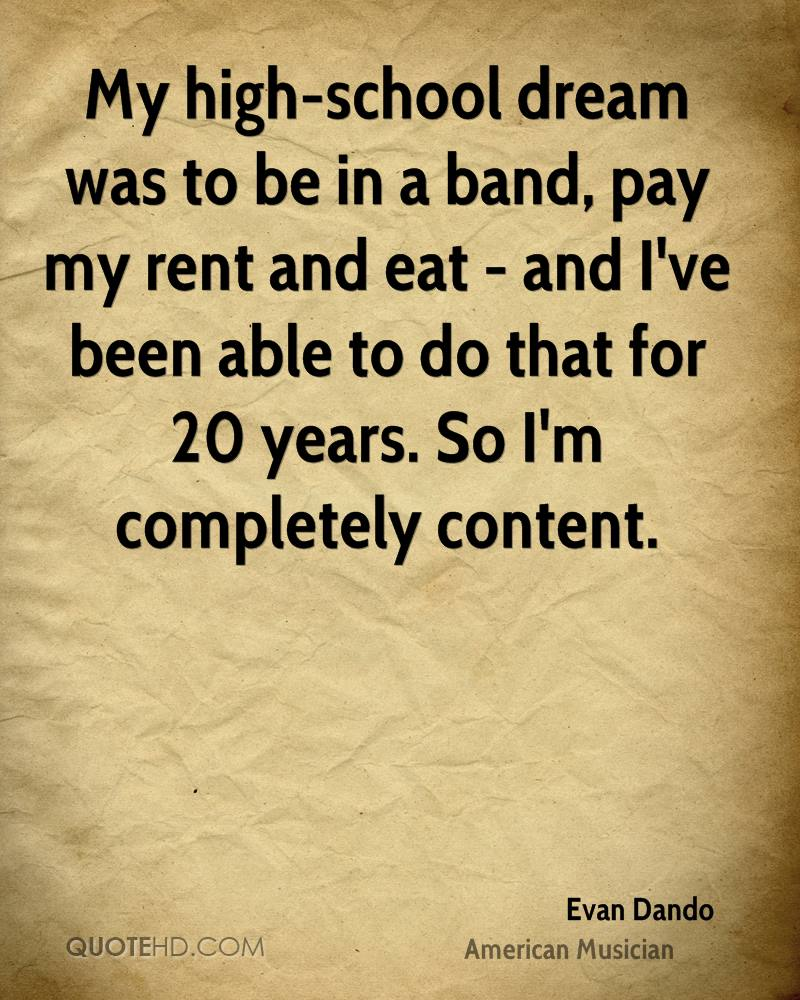 Rent Quotes Prepossessing Evan Dando Quotes  Quotehd