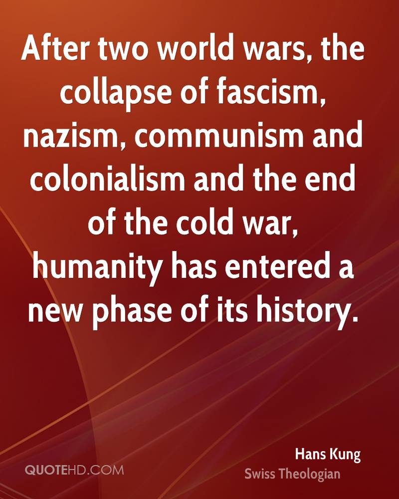 the collapse of the communism and the end of cold war The end of the end of the cold war just get rid of communism the first constitution written in russia after the 1991 collapse of the ussr was drafted in the.