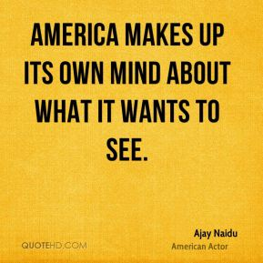 America makes up its own mind about what it wants to see.