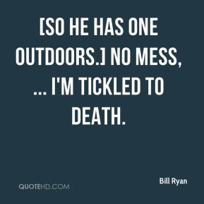 [So he has one outdoors.] No mess, ... I'm tickled to death.