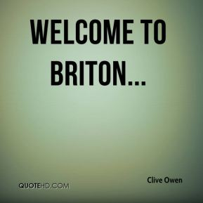 Welcome to Briton...