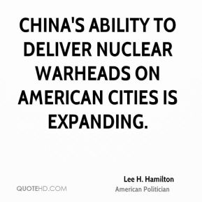 China's ability to deliver nuclear warheads on American cities is expanding.