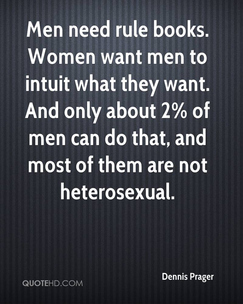 What do most women want in a man