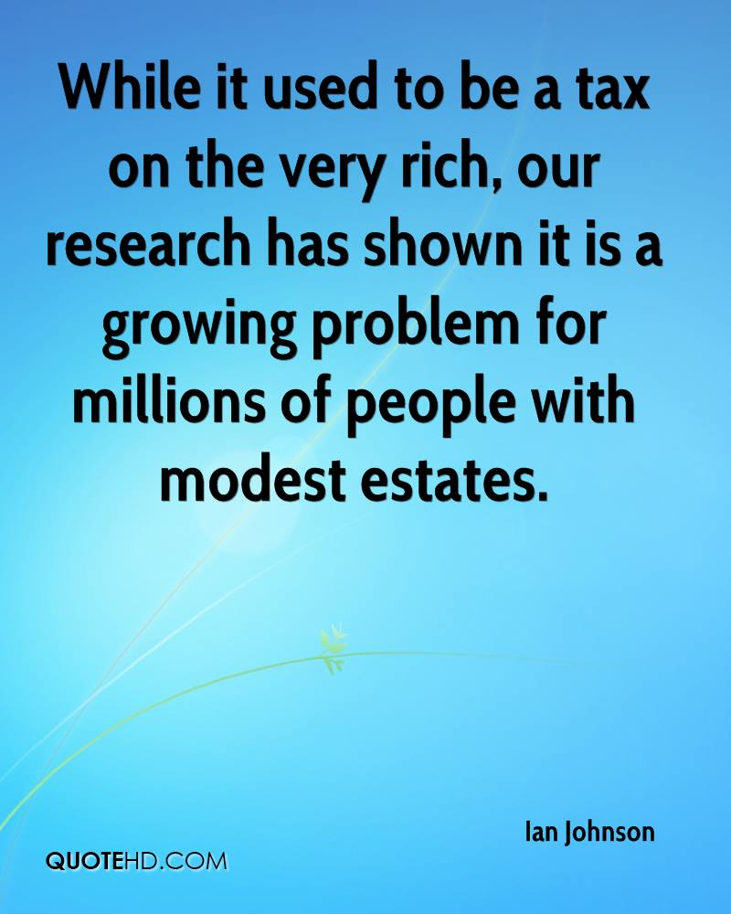 While it used to be a tax on the very rich, our research has shown it is a growing problem for millions of people with modest estates.