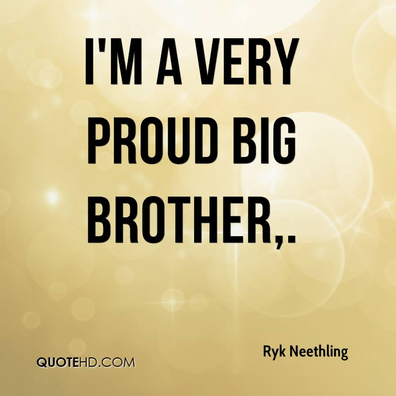 Quotes In Brother: Proud Of You Brother Quotes. QuotesGram