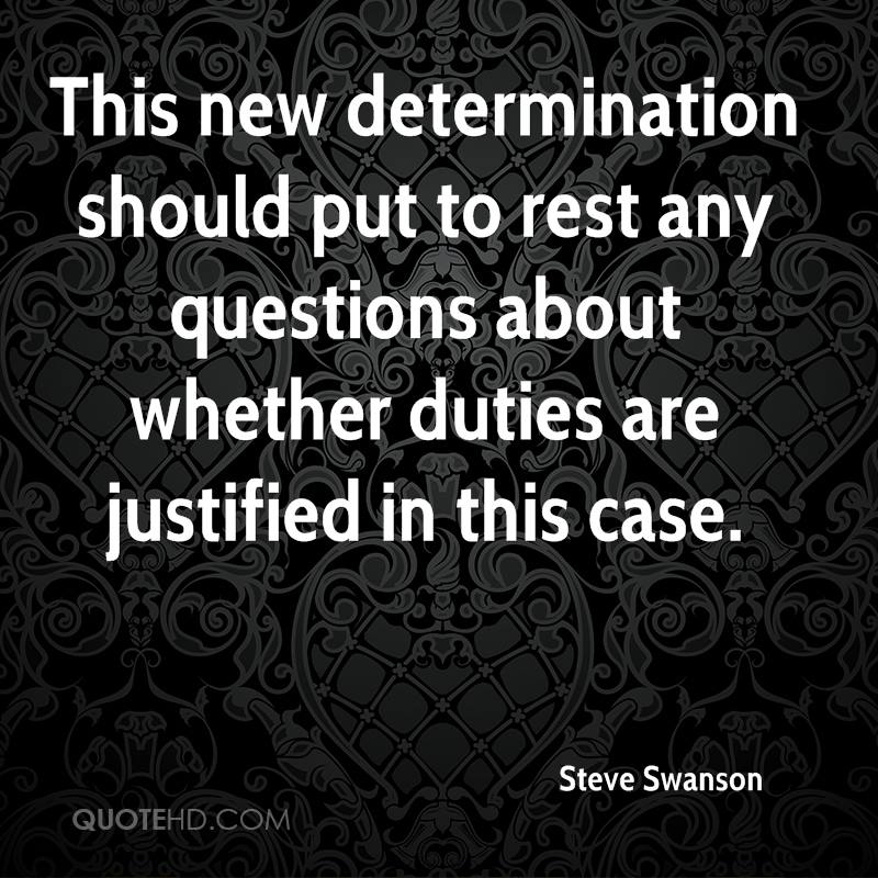 This new determination should put to rest any questions about whether duties are justified in this case.