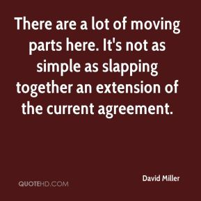 There are a lot of moving parts here. It's not as simple as slapping together an extension of the current agreement.