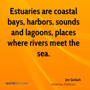 Estuaries are coastal bays, harbors, sounds and lagoons, places where rivers meet the sea.