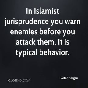 In Islamist jurisprudence you warn enemies before you attack them. It is typical behavior.