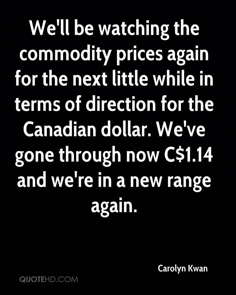Commodity Quotes Carolyn Kwan Quotes  Quotehd