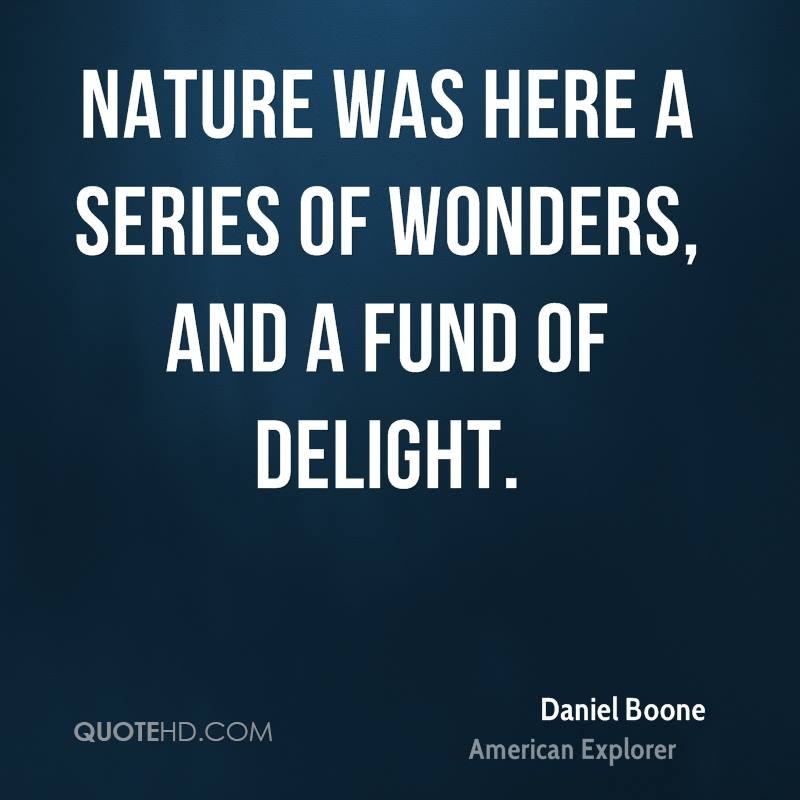Nature was here a series of wonders, and a fund of delight.