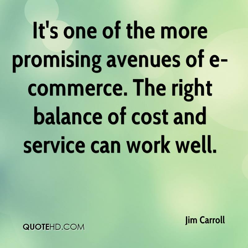 It's one of the more promising avenues of e-commerce. The right balance of cost and service can work well.