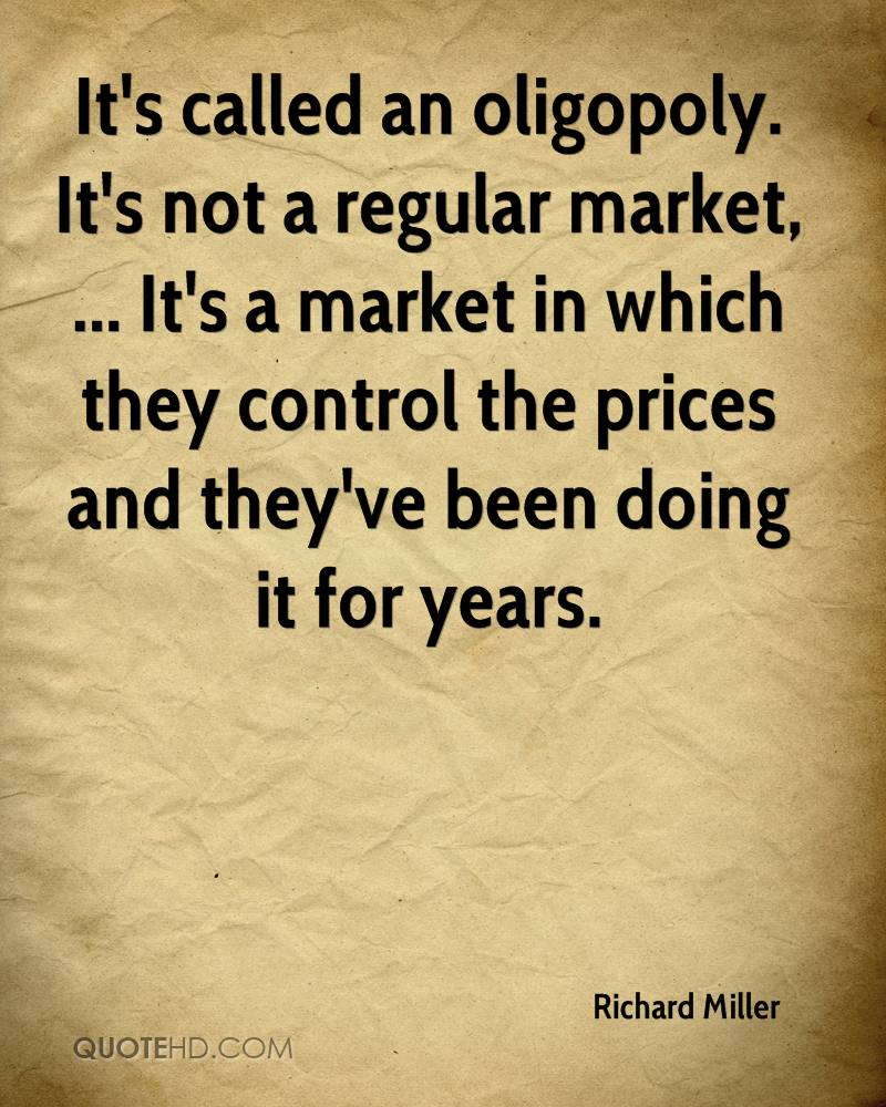 Market Quotes: Richard Miller Quotes