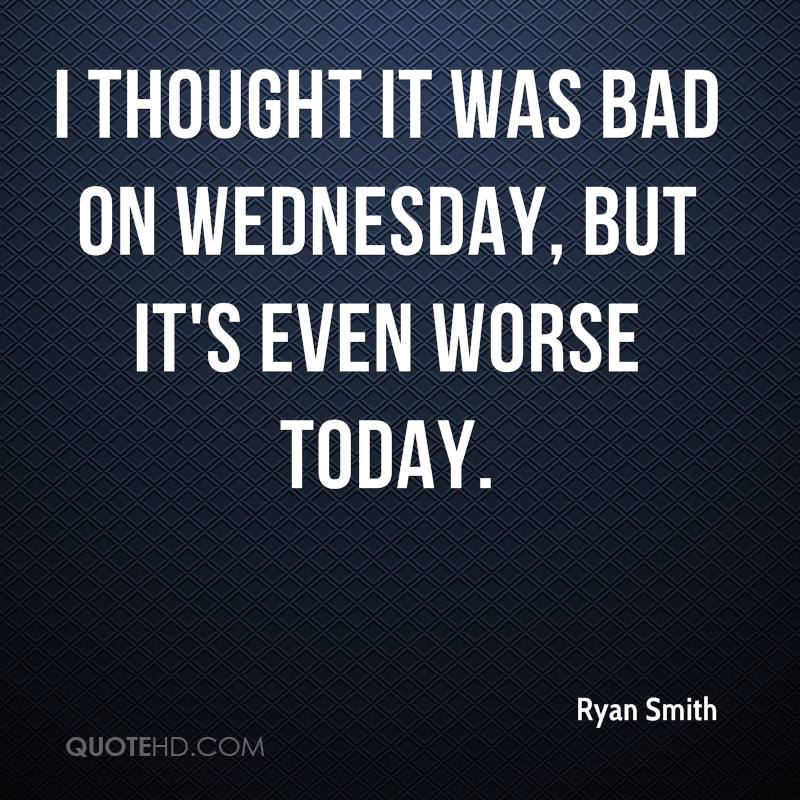 NuttipongWattanaboonma m3/4 no.5 Ryan-smith-quote-i-thought-it-was-bad-on-wednesday-but-its-even-worse