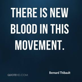 There is new blood in this movement.