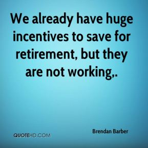 We already have huge incentives to save for retirement, but they are not working.