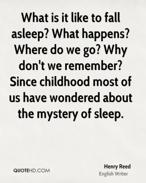 What is it like to fall asleep? What happens? Where do we go? Why don't we remember? Since childhood most of us have wondered about the mystery of sleep.