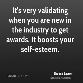 It's very validating when you are new in the industry to get awards. It boosts your self-esteem.