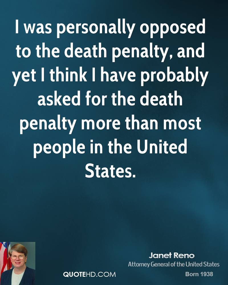 An analysis of the death to the death penalty in the united states