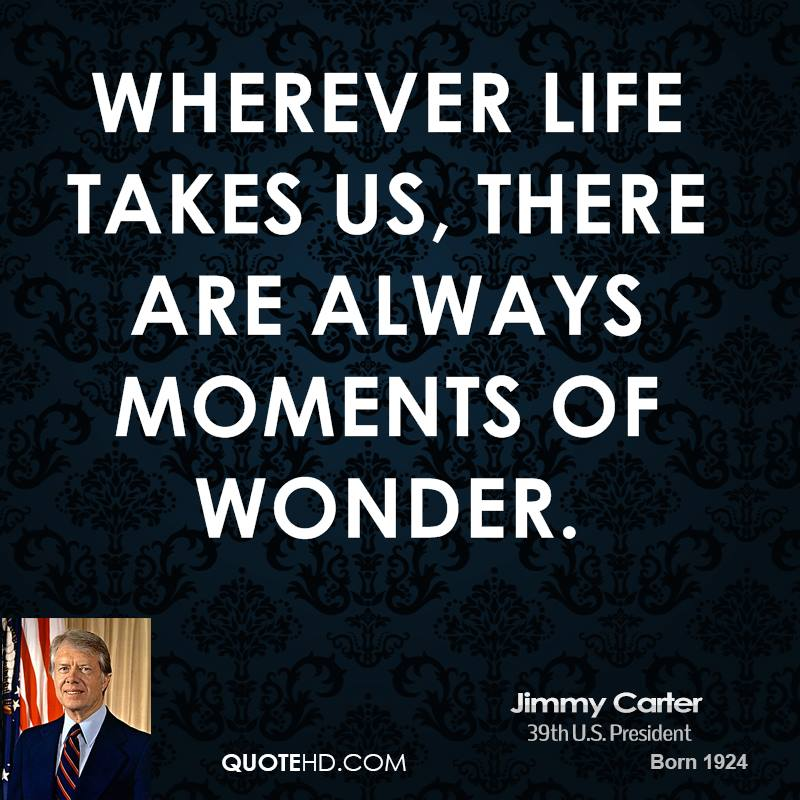 Wherever life takes us, there are always moments of wonder.