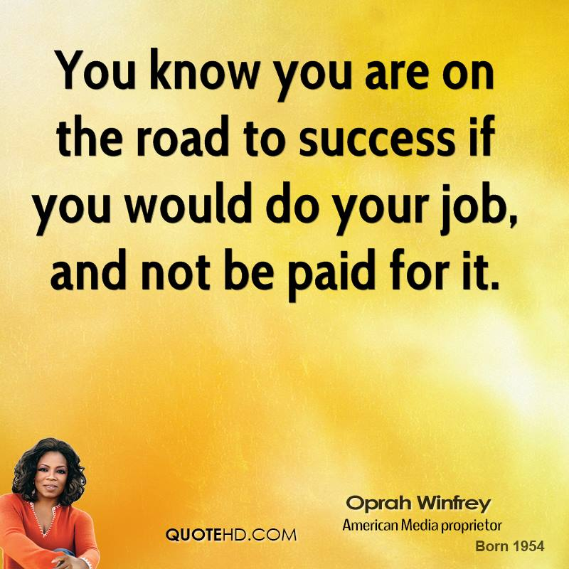 the secret to oprah winfreys success When it comes to branding, there's no better person i can think of than ms oprah winfrey oprah, not only knows her audience, but she knows her message off.
