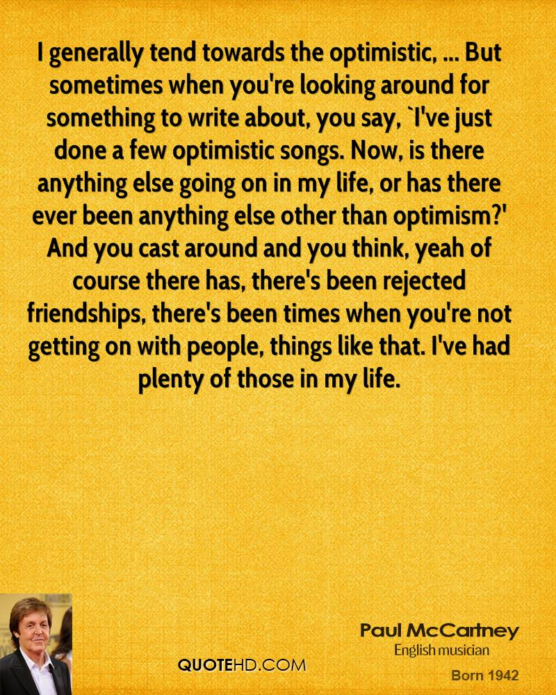 Paul McCartney Friendship Quotes  QuoteHD