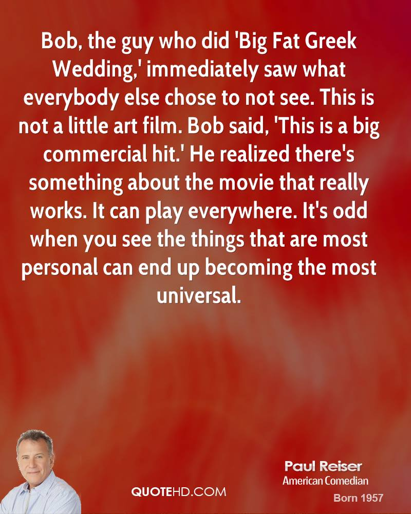 My Big Fat Greek Wedding Quotes Paul Reiser Quotes  Quotehd