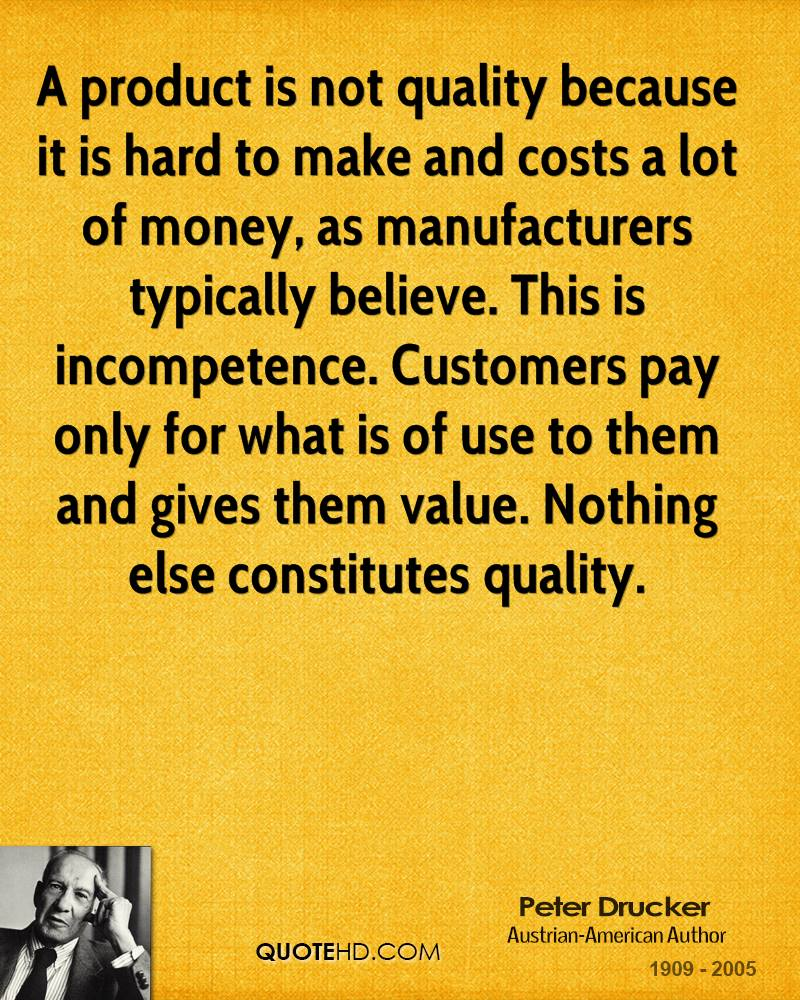 product quality quotes