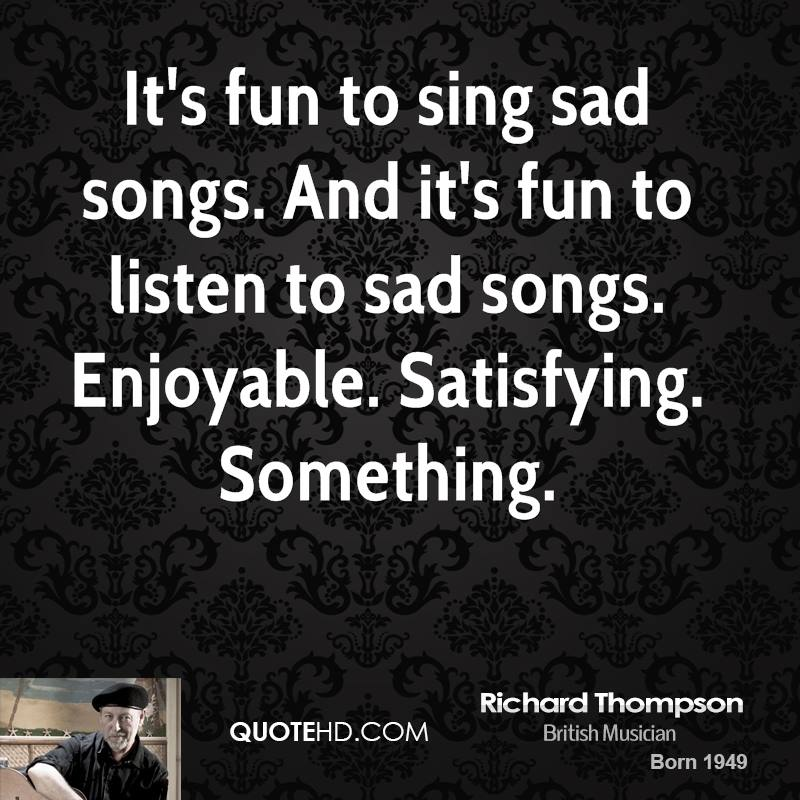 Richard Thompson Quotes. QuotesGram