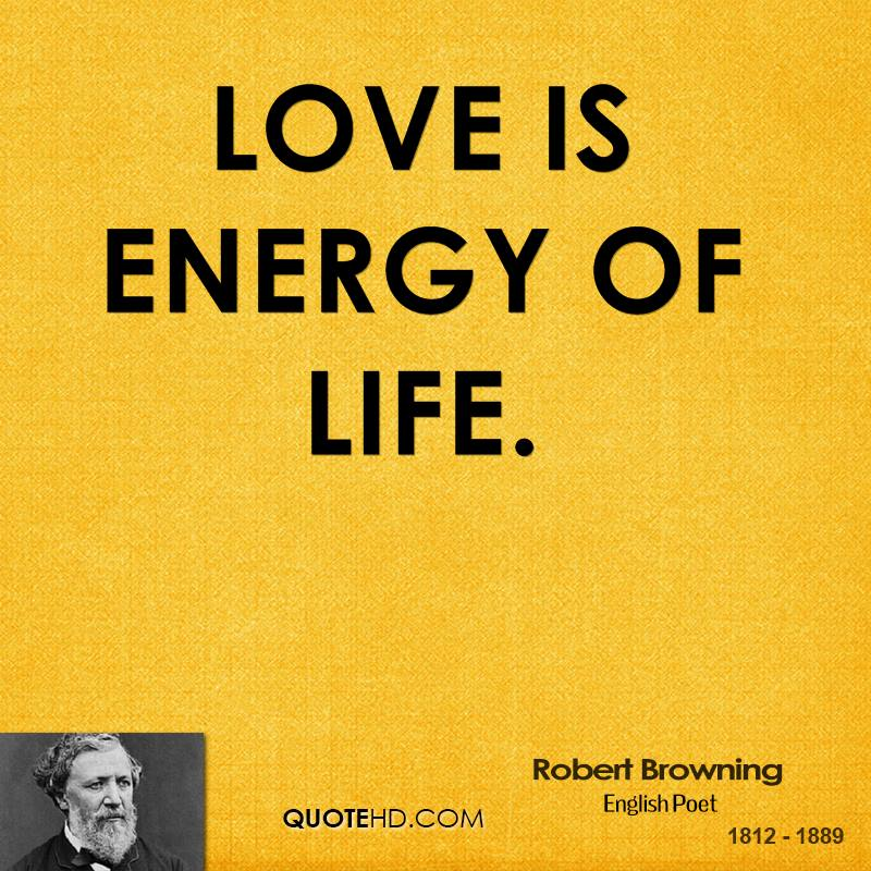 Love is energy of life.