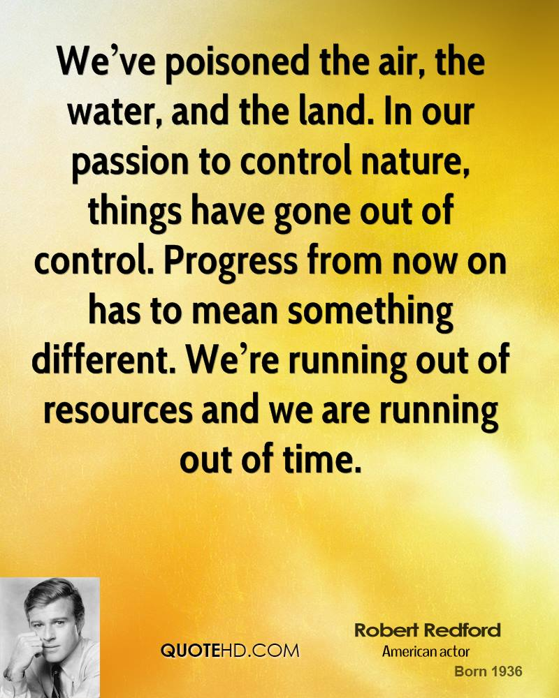 Robert redford quotes quotehd for We are water
