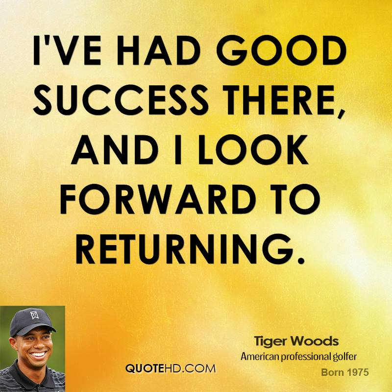 I've had good success there, and I look forward to returning.