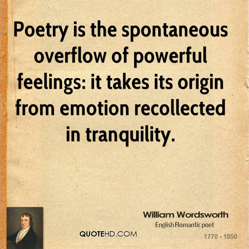 essays on wordsworth poetry