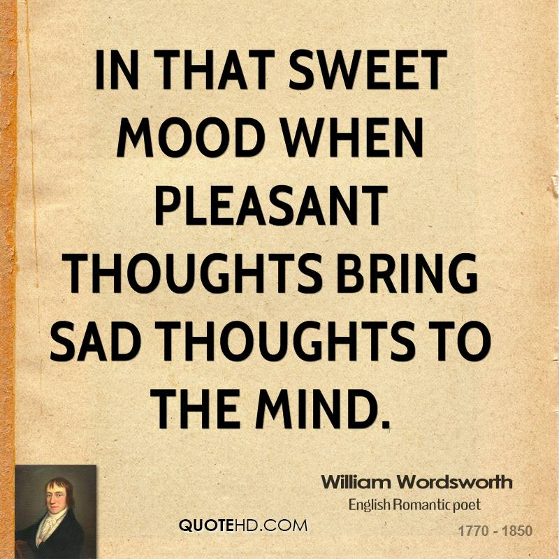 Thoughts In English: William Wordsworth Quotes