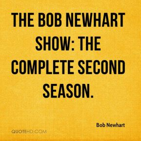 The Bob Newhart Show: The Complete Second Season.