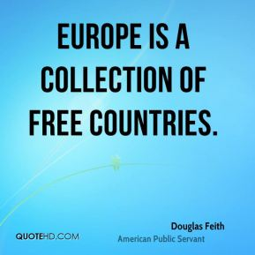 Europe is a collection of free countries.