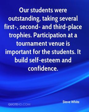 Our students were outstanding, taking several first-, second- and third-place trophies. Participation at a tournament venue is important for the students. It build self-esteem and confidence.