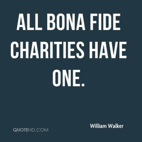 All bona fide charities have one.