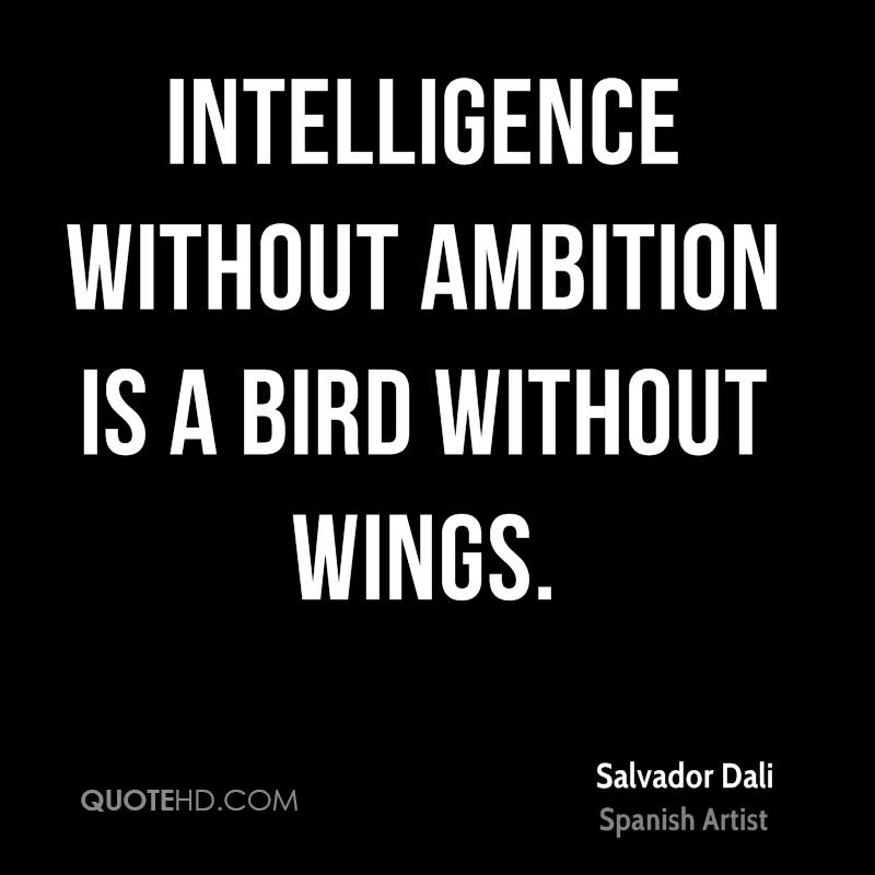 Salvador Dali Intelligence Quotes  QuoteHD