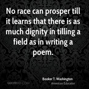 Booker T. Washington Quotes