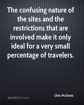 The confusing nature of the sites and the restrictions that are involved make it only ideal for a very small percentage of travelers.