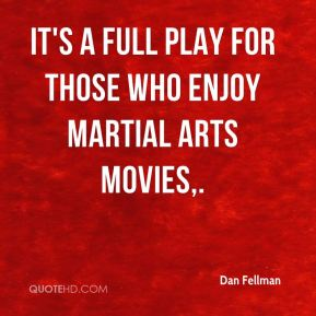 It's a full play for those who enjoy martial arts movies.