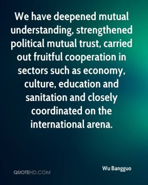 We have deepened mutual understanding, strengthened political mutual trust, carried out fruitful cooperation in sectors such as economy, culture, education and sanitation and closely coordinated on the international arena.
