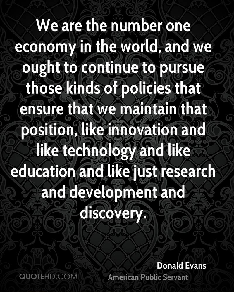 Donald Evans Technology Quotes